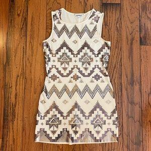 Express Aztec Print Dress size L